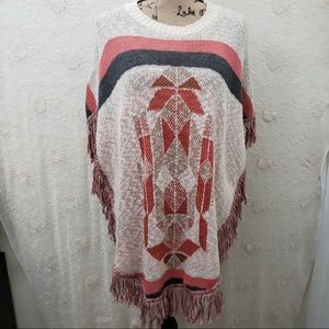 Say What? Aztec poncho